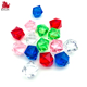 Promotion Bulk Mix Colors Plastic Ice Rock Crystals Treasure Gems for Table Scatters, Vase Fillers Decoration
