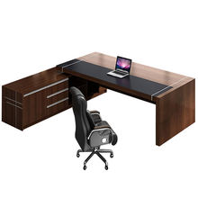 High Quality mesa oficina Luxury Commercial Furniture Office Standing Table Unique Executive Wooden Office Desk