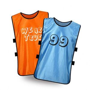 Cheap Price Sports Training Bibs Numbered Training Soccer Vest
