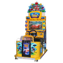 Best Price coin operated amusement Chair Gaming Arcade Games Car Race simulator Game All stars racing for sale