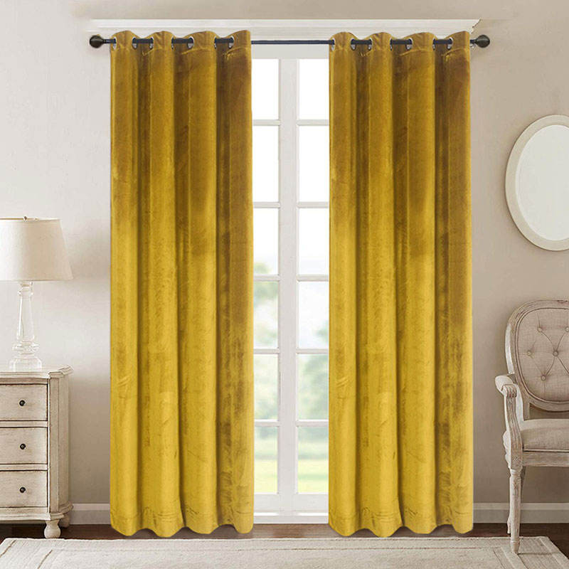 More Colors Choice Velvet Curtains For The Living Room Luxury