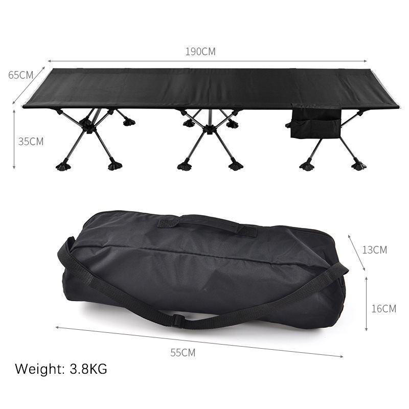 Waterproof Hiking Travel Lightweight Outdoor Bed Portable Camping Cot