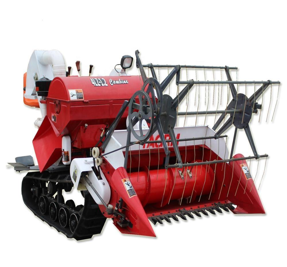 4LZ-1.2 rice harvester /mini rice combine harvester made in China