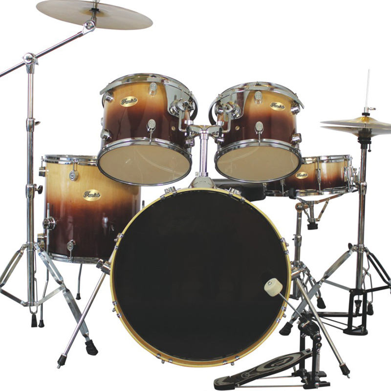 Professional Adult Junior Practice JAZZ Musical Instrument Pvc Affordable Price 5Pcs Drum Sets