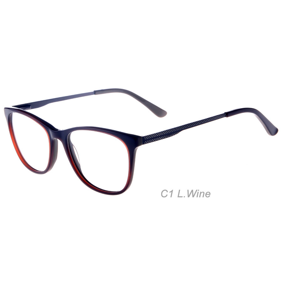 17181 Spring Hinge Eyeglass Frames Fred Multiple acetate eye glasses