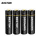 BESTON fast charge Micro USB 1.5v li-ion lithium AA 2800mWh rechargeable battery for MP3/Camera