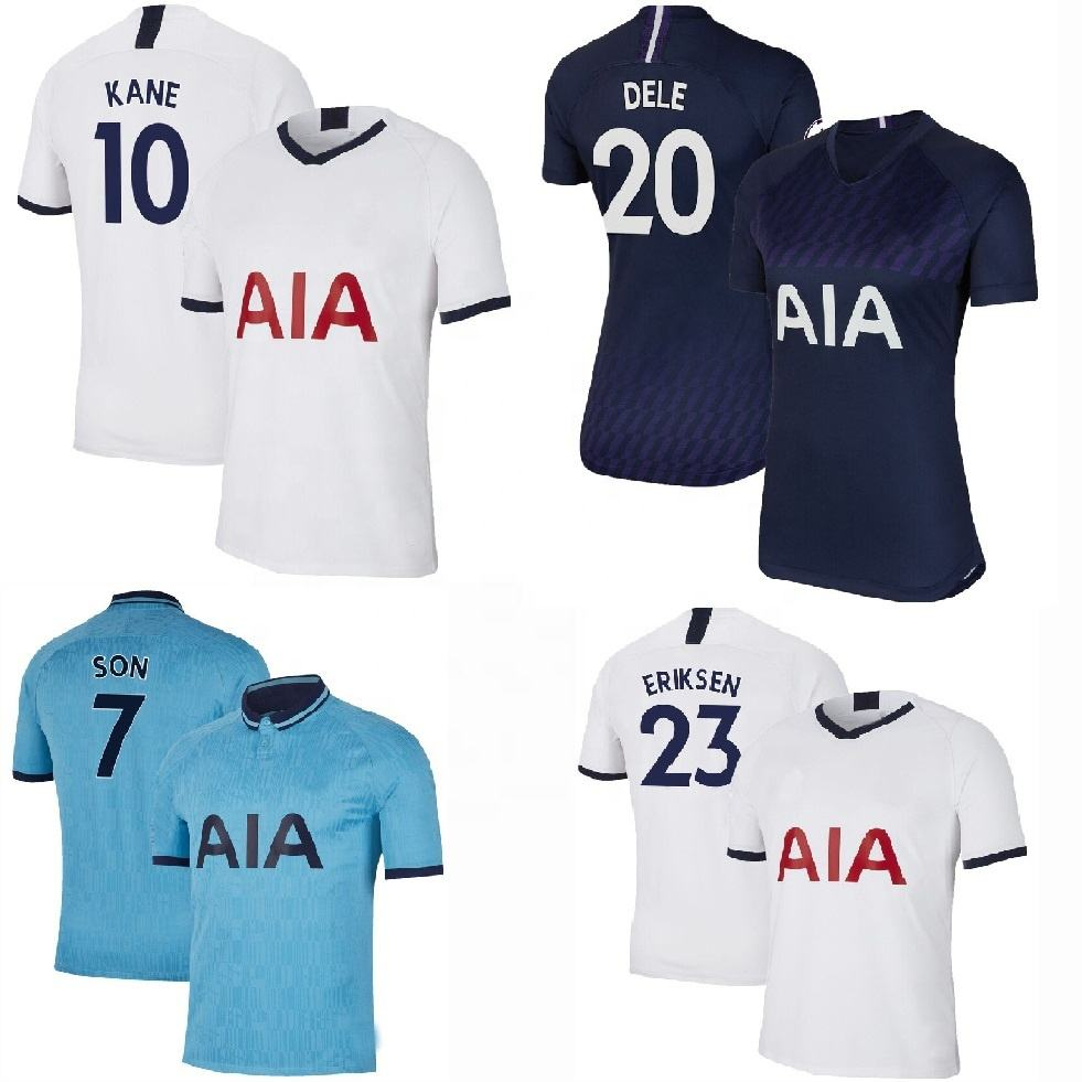 Top sell Thai quality jersey 2019 2020 Hotspur cheap soccer jerseys football shirt