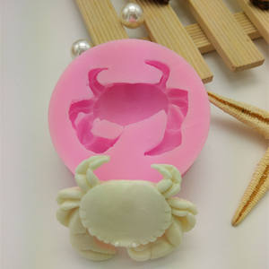 DIY baking kit silicone animal crab soap mold can be customized cake sugar chocolate resin mold silicone