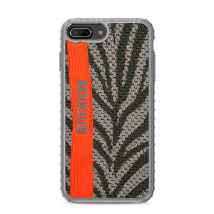 IPAKY Shockproof Carbon Fiber back cover Voor iPhone 6/7/8 edge TPU case