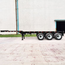 Extended container trailer 20ft to 40 ft extendable container chassis