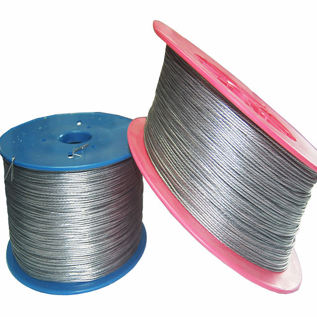 1.8mm stranded aluminum electric fencing wire from china zhejiang factory for farm or house fencing