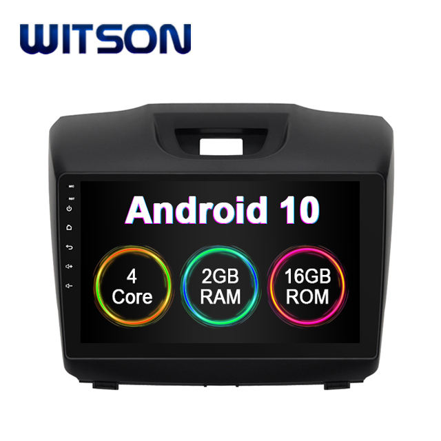 WITSON Android 10.0 car dvd player universal For Chevrolet S10 ISUZU D-Max 2013 2014 Built In 2GB RAM 16GB FLASH gps device