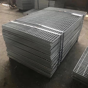 Heavy Duty Safety Flooring standard weight Galvanized Steel Grating sheet