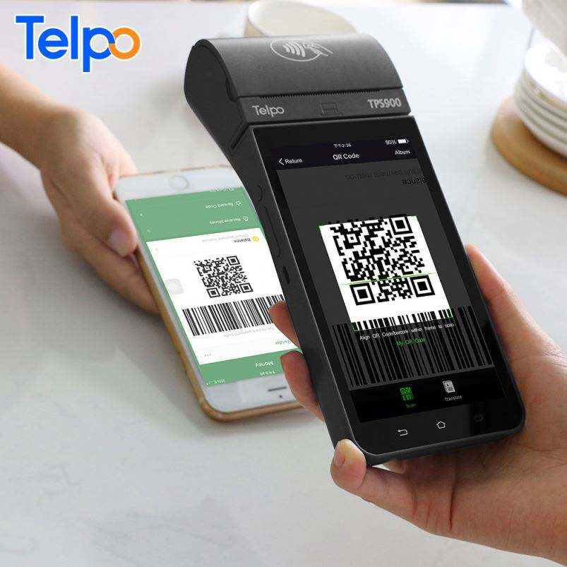QR code scanner mobile android point of sale solutions provider for eftpos payments australia