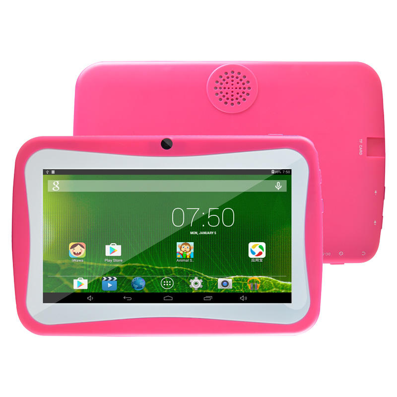 Boxchip Q704 7 Inch Quad Core Lovely Android Educational CE Certificate Passed Kids Tablet PC Kids Learning Machine