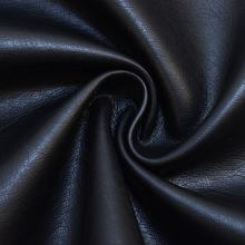 Rayon backing hot sale pu washed leather for garments, dress and jackets