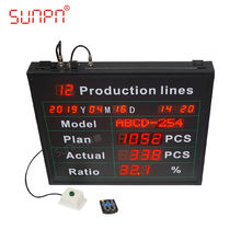 Digital production counter production counter display production line counter