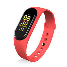 Hot selling multi-sports heart rate blood pressure and stress M4 smart watch bracelet for people