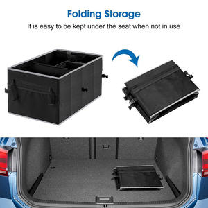 Factory Price Car Luggage Interior Trunk Back seat Organizer for Toys and Tools