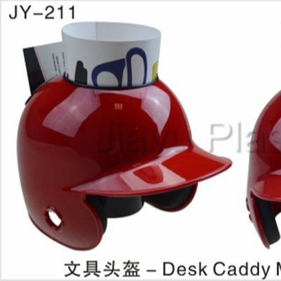 mini desk caddy Baseball helmet pen container card holder collectible mini helmets CUSTOM MADE
