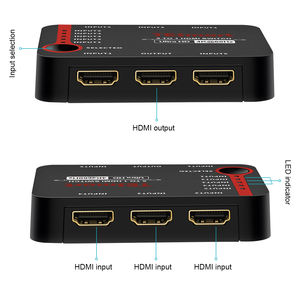support HDR 4K 60Hz 5x1 HDMI Switch up to 5 HDMI signal input