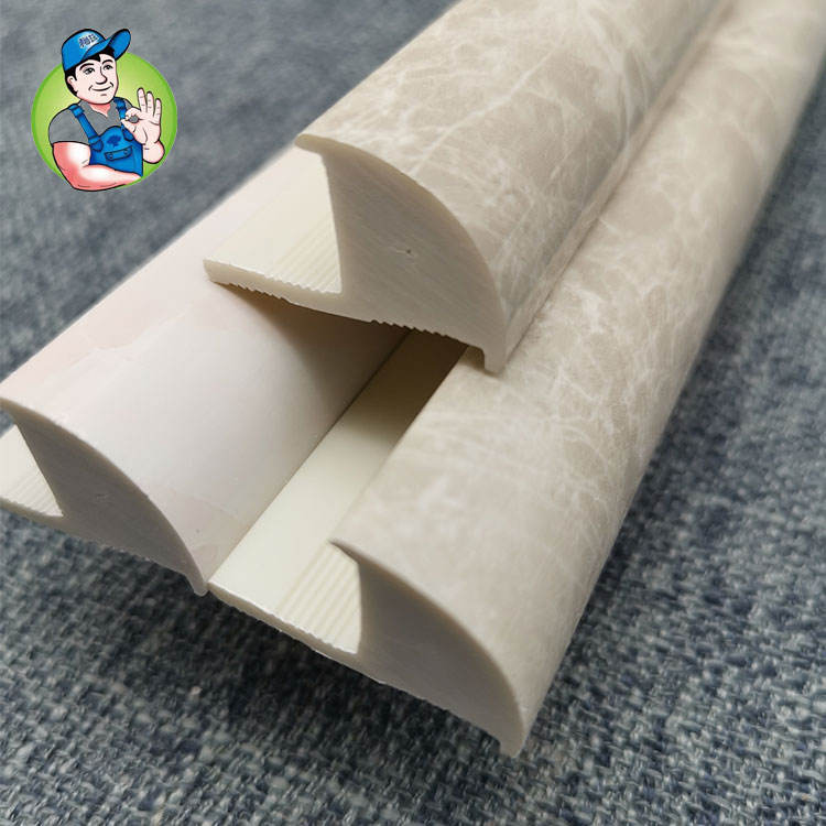 Decoration SPC PVC Tile Edge Trim Wall