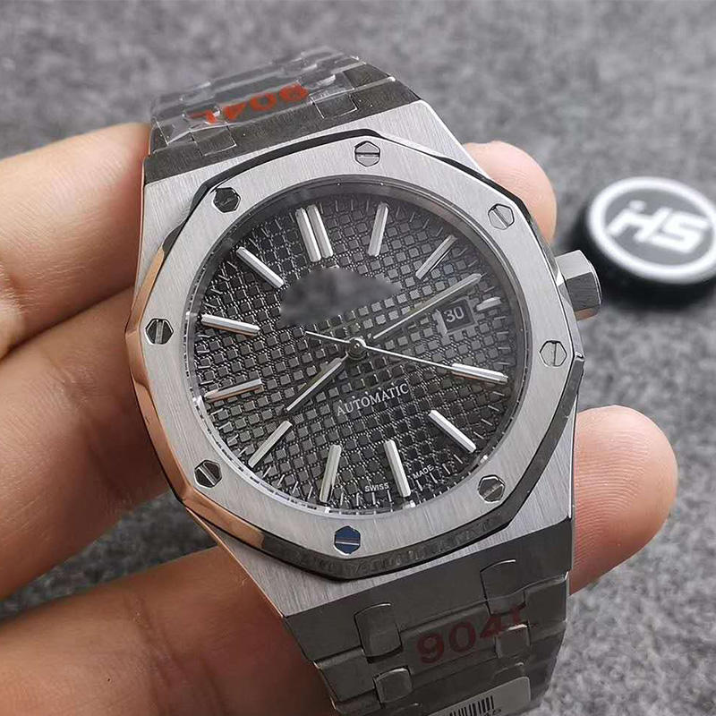 High quality 904L stainless steel automatic movement heavy solid luxury dive Ap watches for man