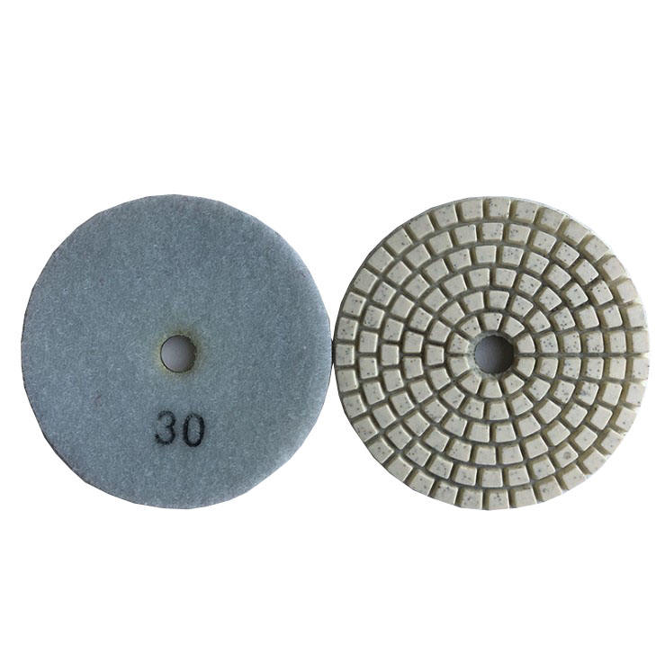 White Diamond Flexible Polishing Pads Wet Usage Only