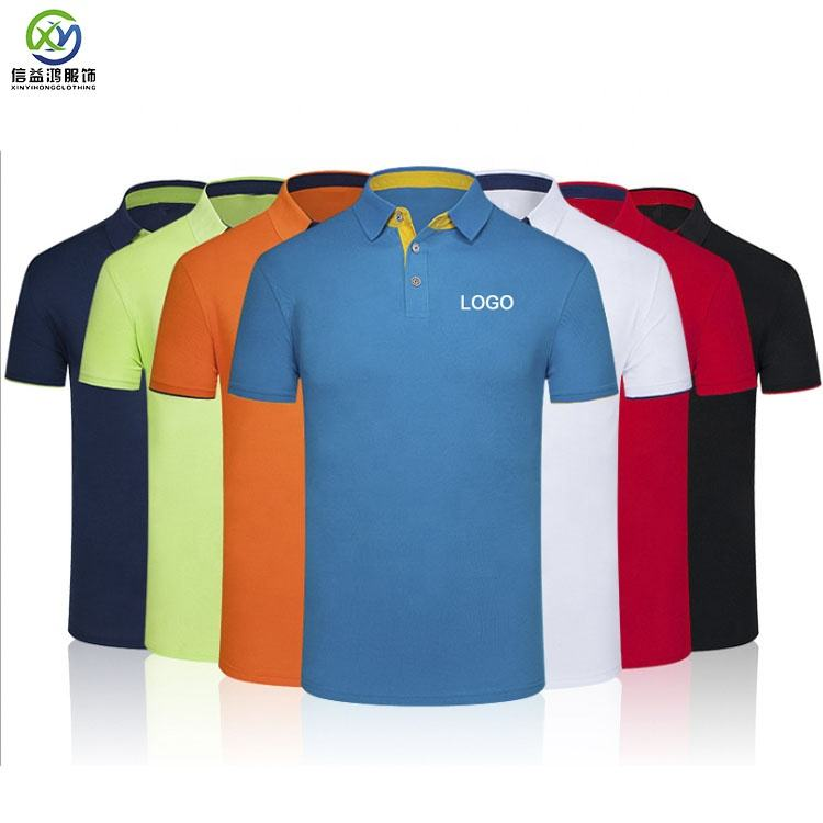 Custom design your own brand polo shirtShort Sleeve men's polyester dry fit man Golf Polo t-shirt Shirts