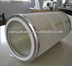cylinder Painting Booth Cement Powder hepa air Filter Cartridge