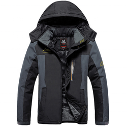 Men's Winter Warm  Mountain Ski Snow Outerwear Windproof Waterproof Jacket