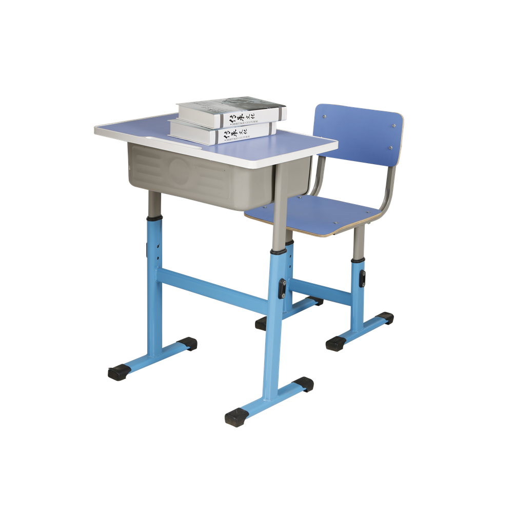 High quality school table chair student furniture metal modern school desk and chair for sale