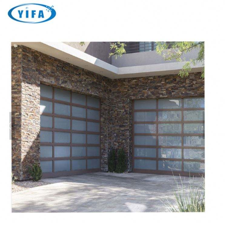 customized glass panel garage door window kit hot style