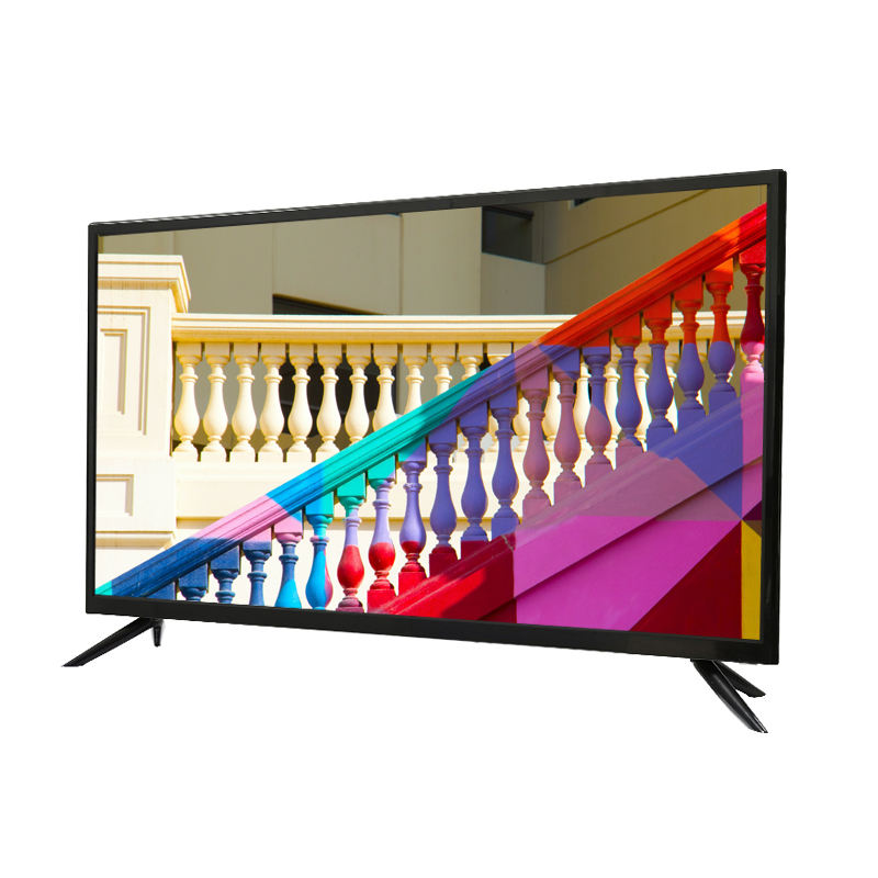 Slim 32 inch FHD 1080P LCD TV LED TV Wholesale Analog DVBT DVBT2 ATSC ISDBT Smart TV