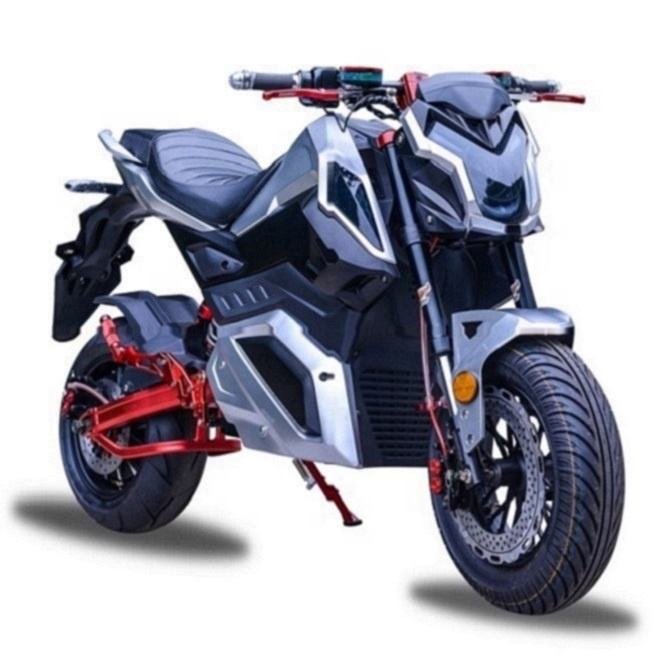 72V 3000W Racing high speed New Powerful Racing Electric Moto With Disc Brakes
