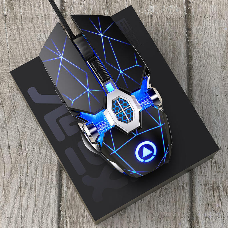Real Custom Logo OEM 7D Cheap RGB USB Computer Game mause Gamer for Gamming Maus Mechanical Gaming Mouse