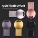 Usb Flash Drive Logo Usb Flash Drive Stick 4gb 8gb 16gb 32gb 64gb Mini Custom Metal Oem Status Logo Style Printing