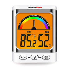 Thermopro TP52 Digital Indoor Thermometer Hygrometer Weather Station for Home