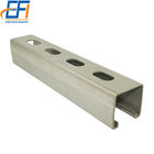 50x50 mm Unistrut Super Quality Ctype Strut Channel 41x41 ss304 C Channel Standard Sizes