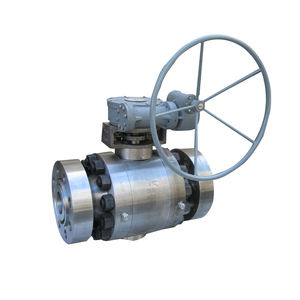 WZLD Forged steel metal seated trunnion mounted ball valve