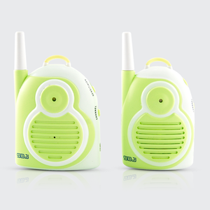 wireless portable one way audio nanny intercom kids walkie talkie babyphone audio baby monitor