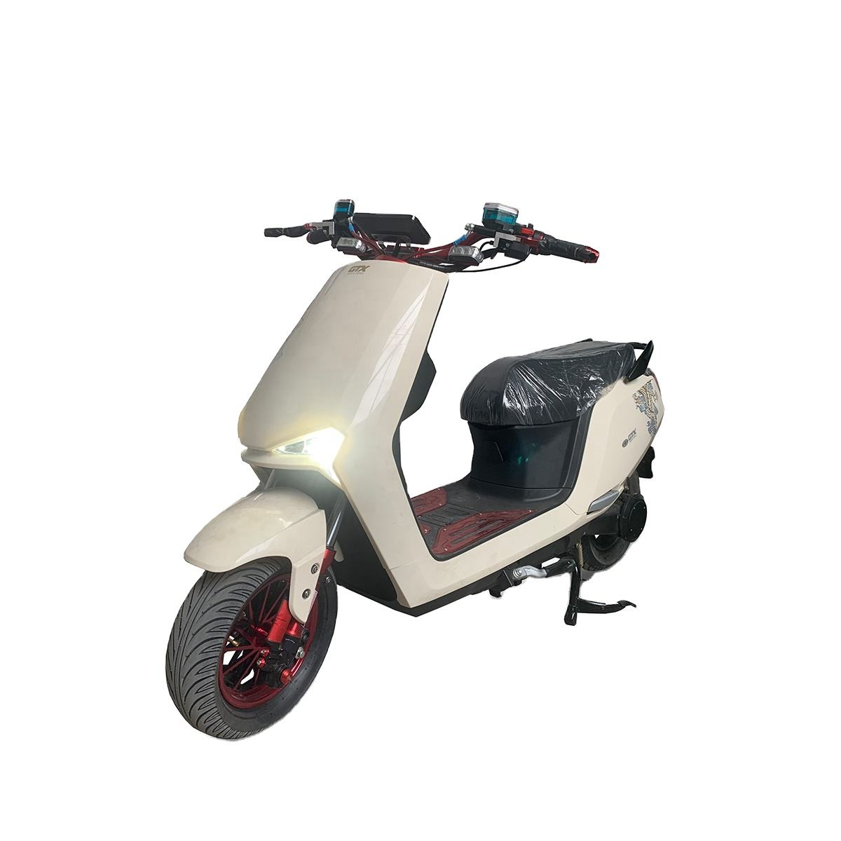 EEC COC 2000w 60v 12ah/20ah with dual battery electric scooter citycoco