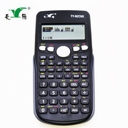 Promotional TY-82 CNX 417 functions table scientific calculator for student