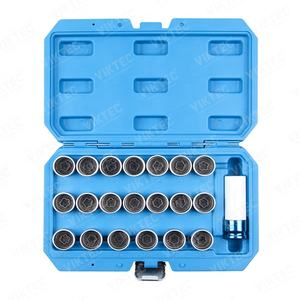 21 Pc Locking Wheel Nut Stud Remover Tool Kit Voor Bmw