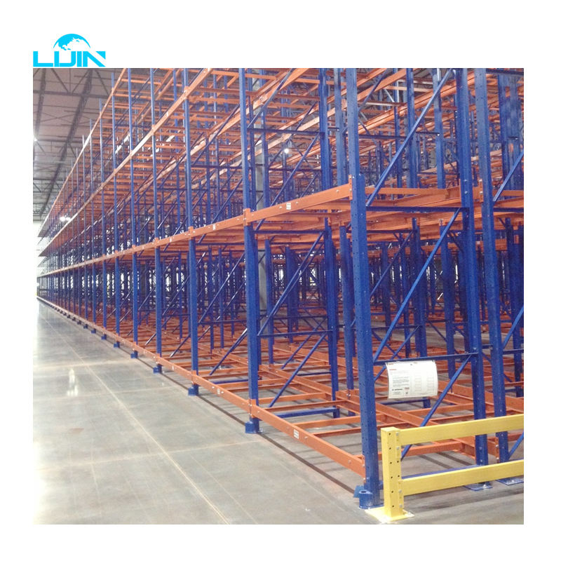 LIJIN 4 Layers Easy Assemble Warehouse 1000kg Heavy Duty Storage Rack