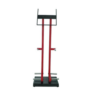Auto Parts Display Rack Branding 3 Triangle Metal Tyre Display Stand