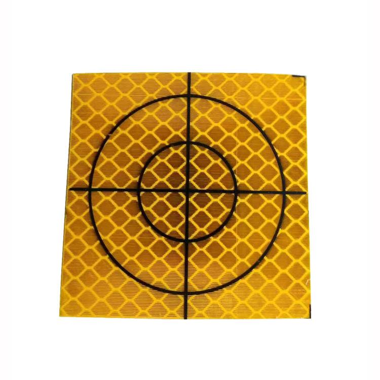Nouveau 100PCS Jaune Réflecteur Feuille 20 x 20 mm Réfléchissant cible pour station totale