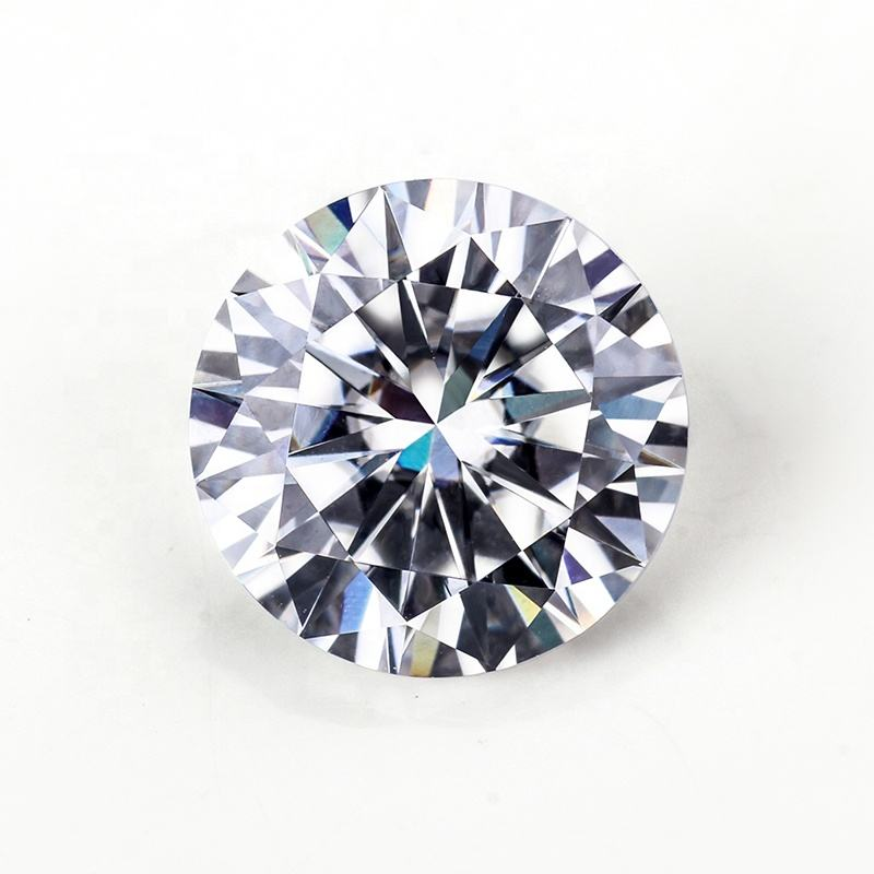 DEF Color 1.50 Ct Moissanite Round Forever Brilliant Loose Stone - 7.5 mm Moissanite White Loose Gems