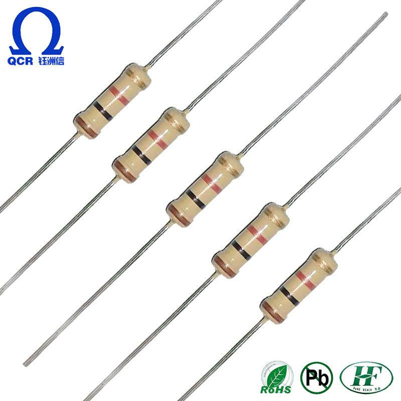 100 résistances couche métal 1M1 1//4W 1/% SEI