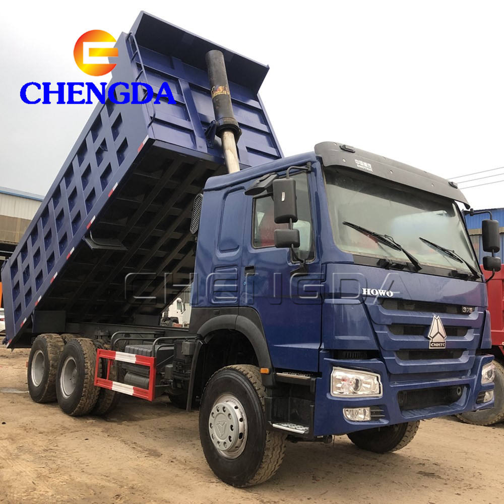 HOWO Sinotruck 10Wheels Used Tipper Trucks Dump Truck For Sale In Nigeria